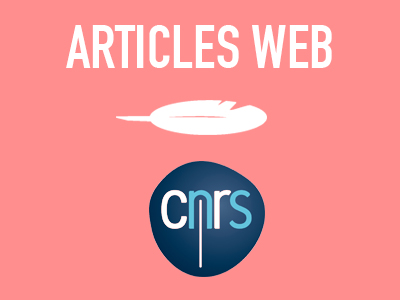 Articles web – CNRS